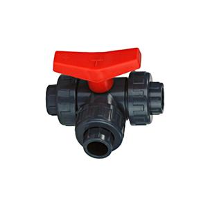 PVC-3-Wegehahn